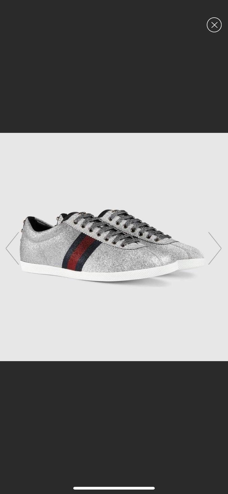 Gucci Glitter Fashion Sneakers | Mercari