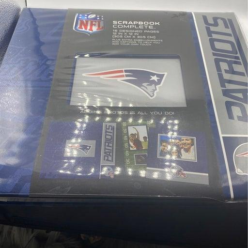 New England Patriots Scrapbook