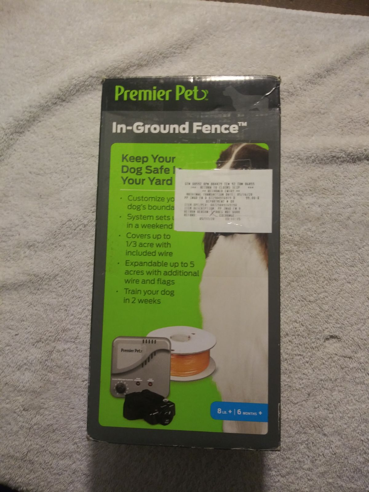Premier pet in ground fence