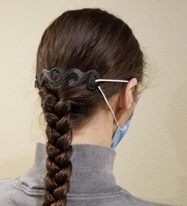 Ear Protector, Black, 2 pieces