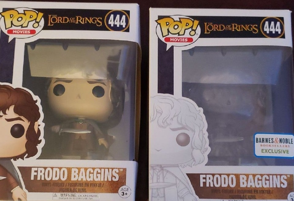 2 Frodo Baggins Funko Pop Lord Of Rings