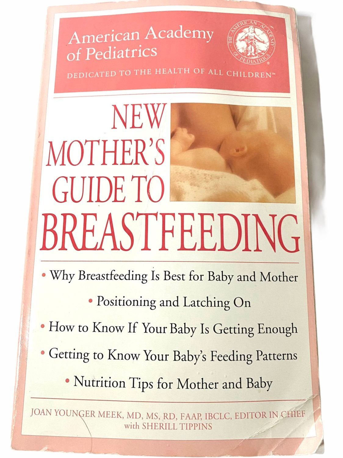 New Mothers Guide To Breastfeeding Book