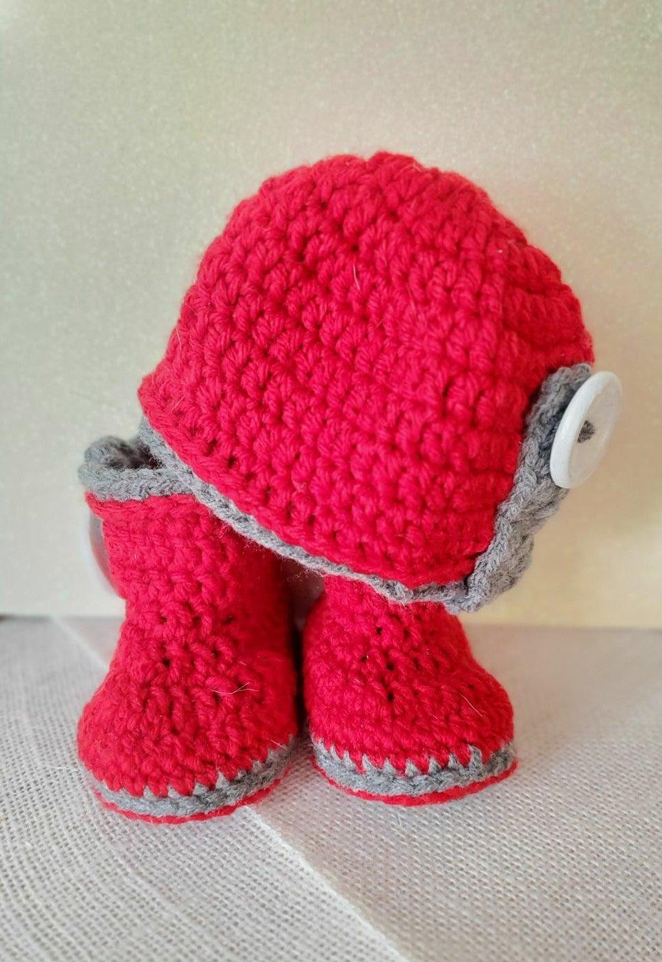 0-3 months Baby Crochet Winter Set