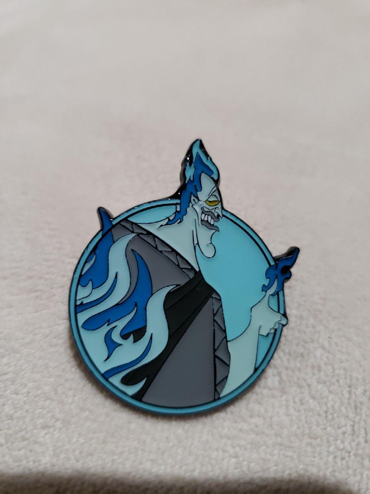 Disney trading pins Hades Portrait