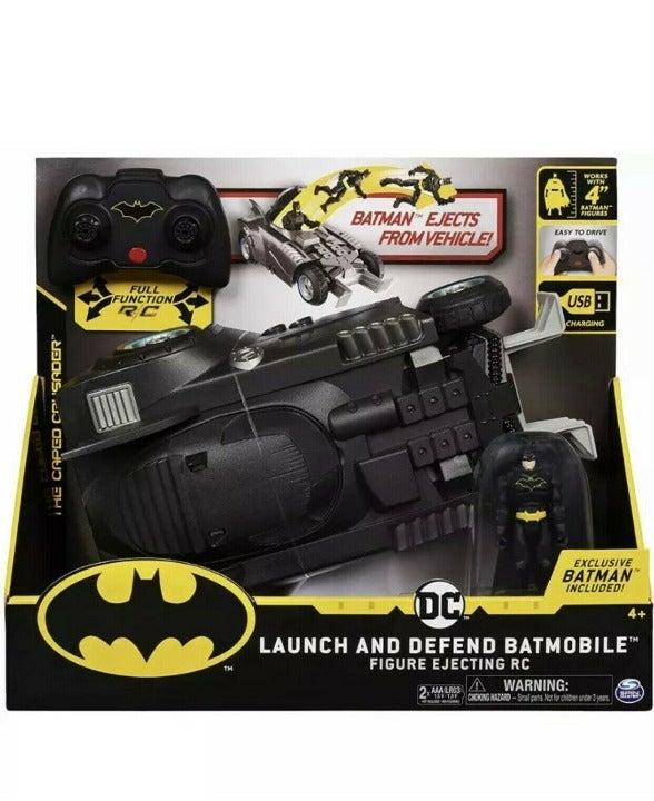 Batman Black Remote Control Vehicle