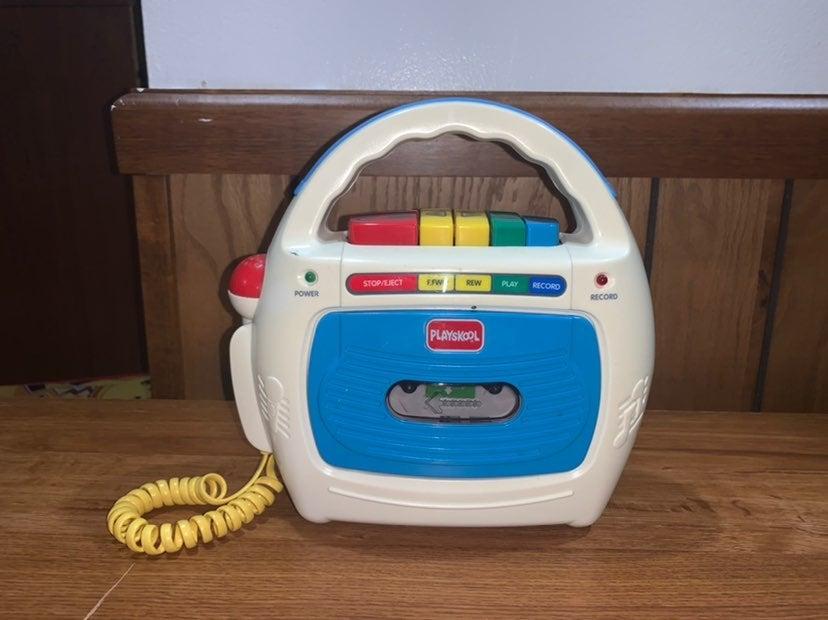 Playskool singalong microphone