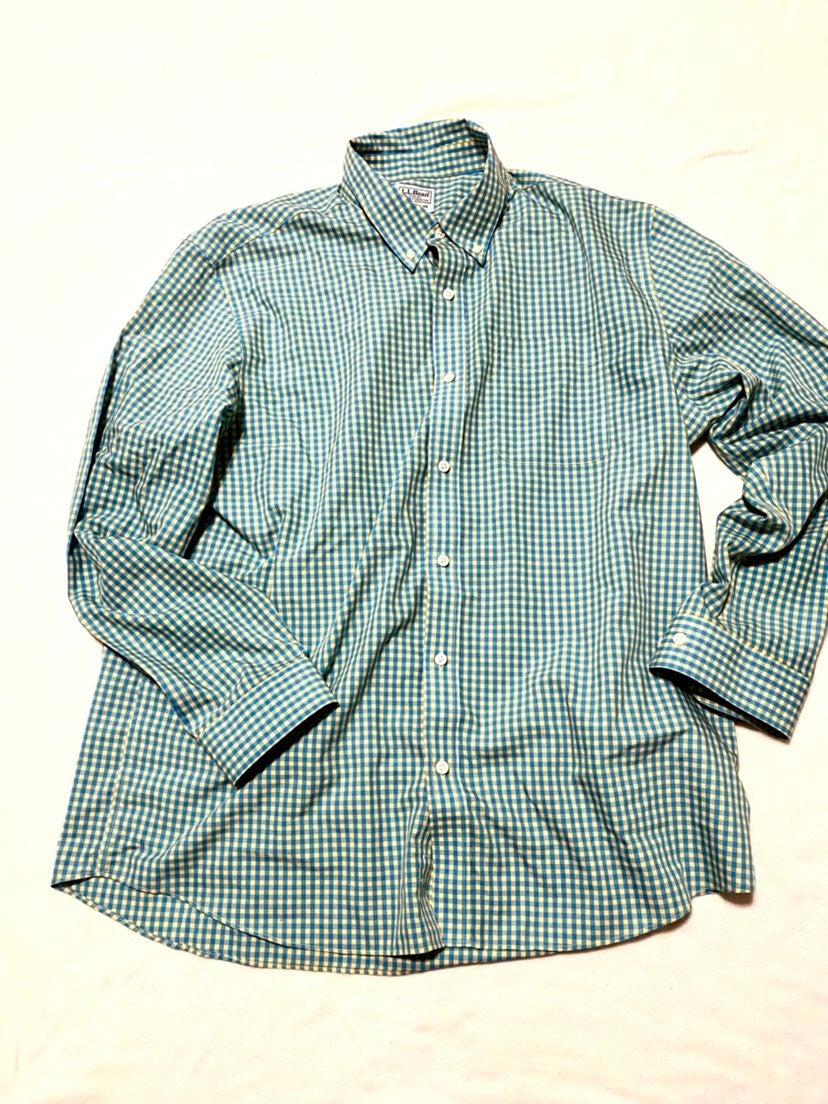 mens dress shirt L.L Bean
