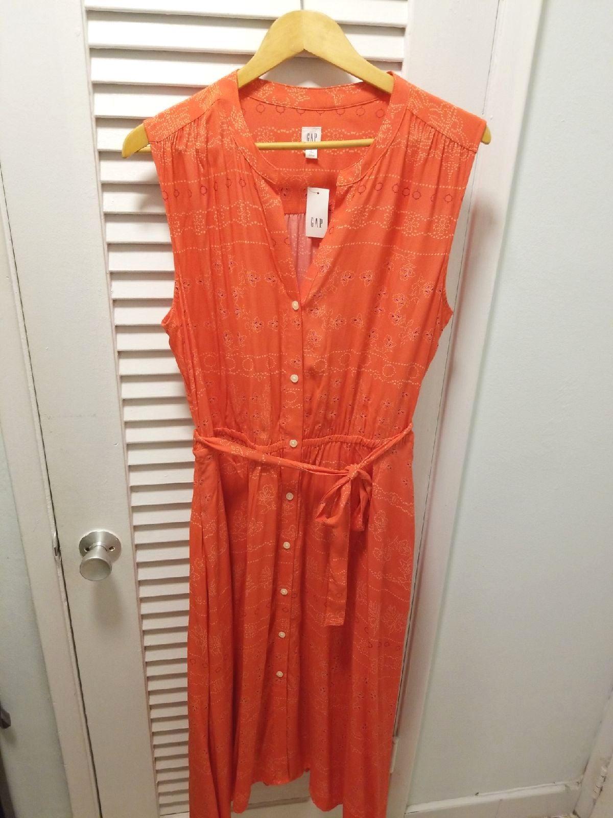 Gap Red Bandana Dress