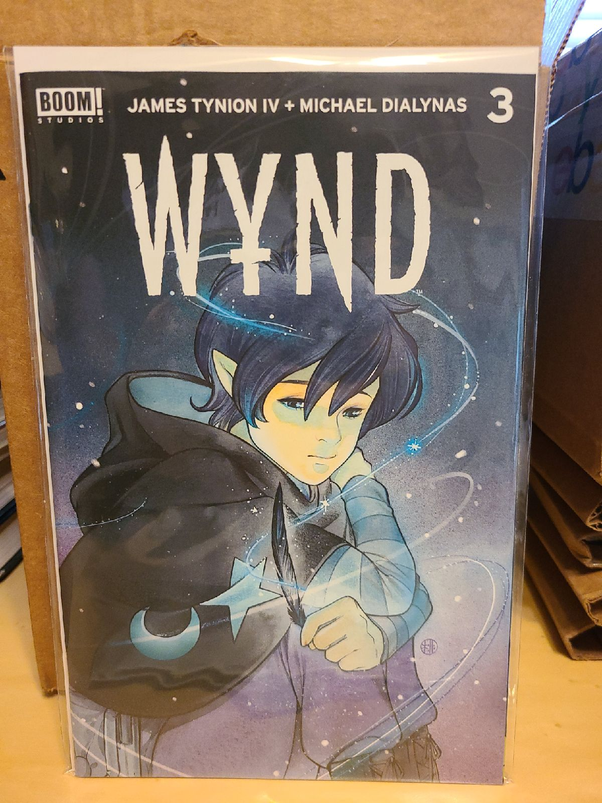 Wynd #3 variant comic book