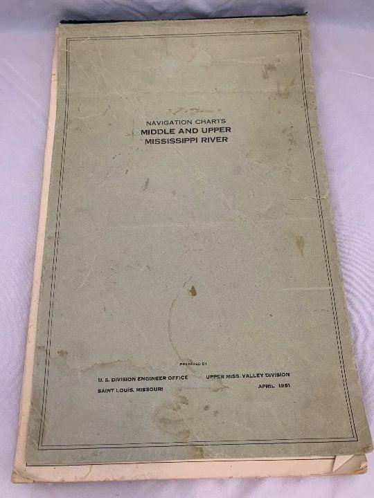 1951 Mississippi River Navigation Charts