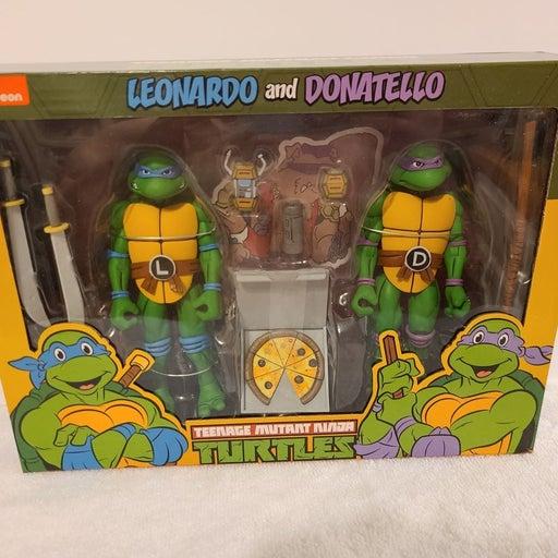 NECA LEO & DONATELLO TMNT