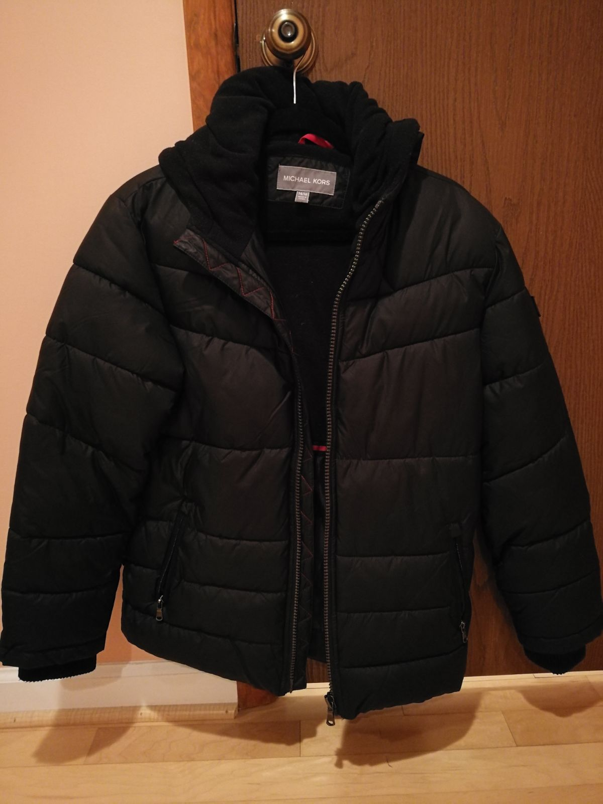 Michael Kors black boys winter jacket 14