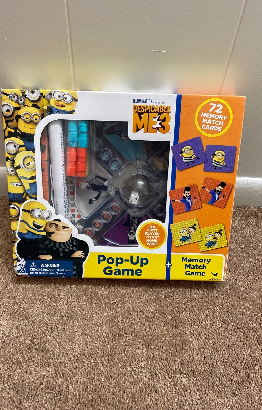 Despicable Me Pop-Up game