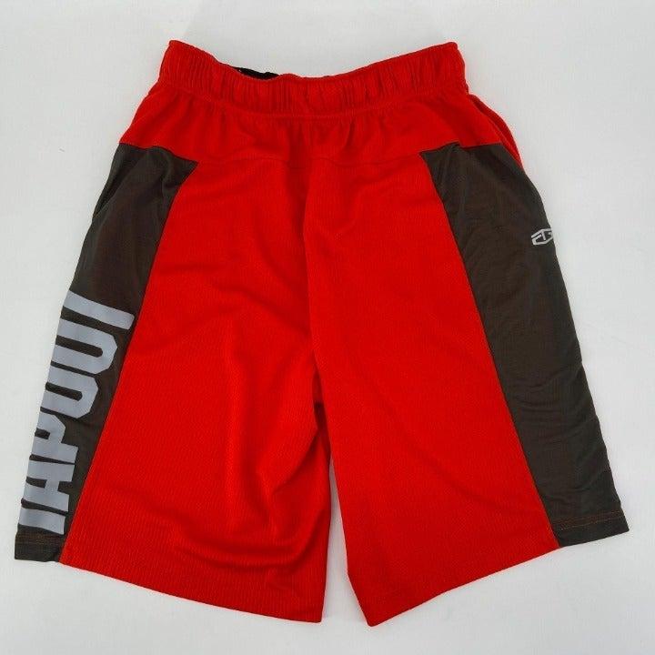 Tapout Red Drawstring Shorts Mens Small