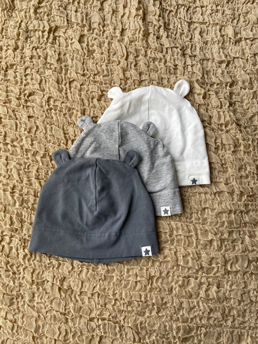 H&M Baby Cotton Beanies / Hats
