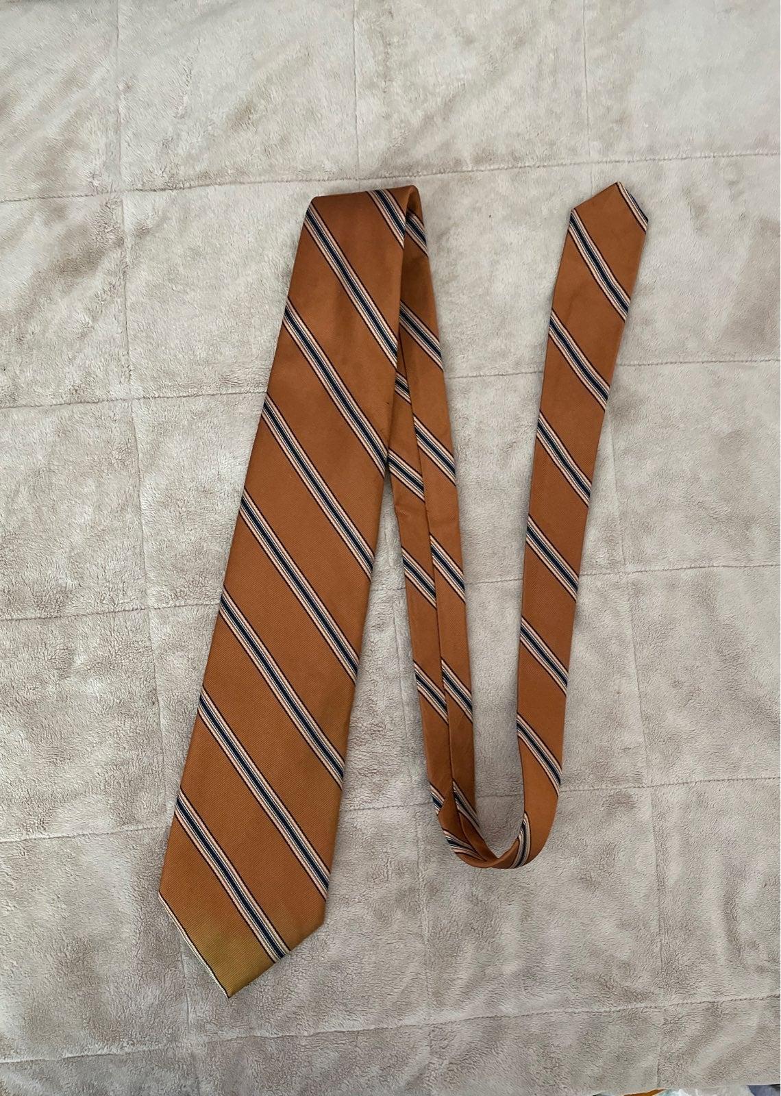 Paul Stuart vintage Mens necktie silk