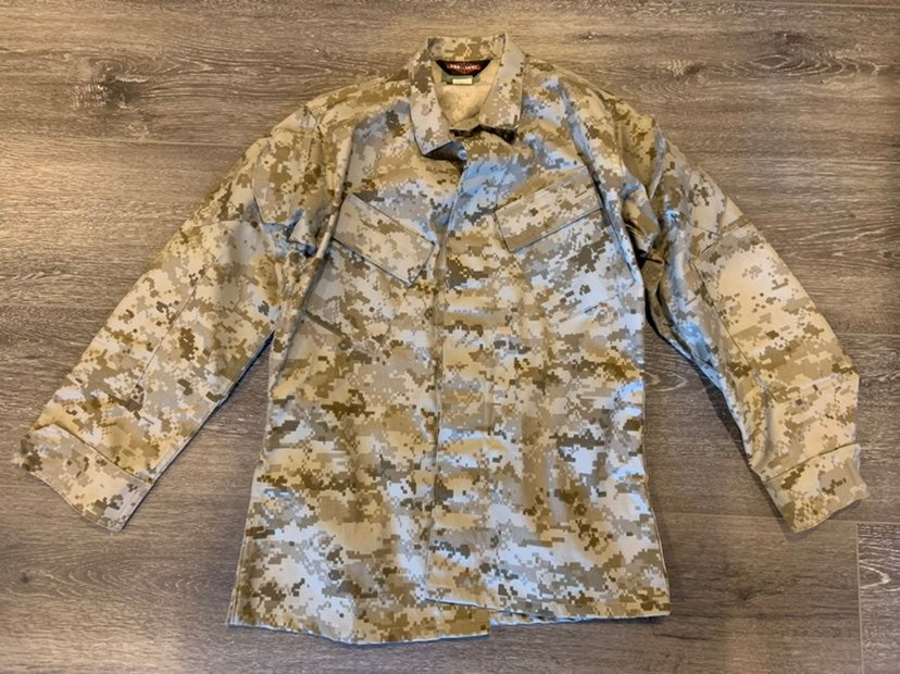 Tru-spec Mens Camoufage Military Jacket