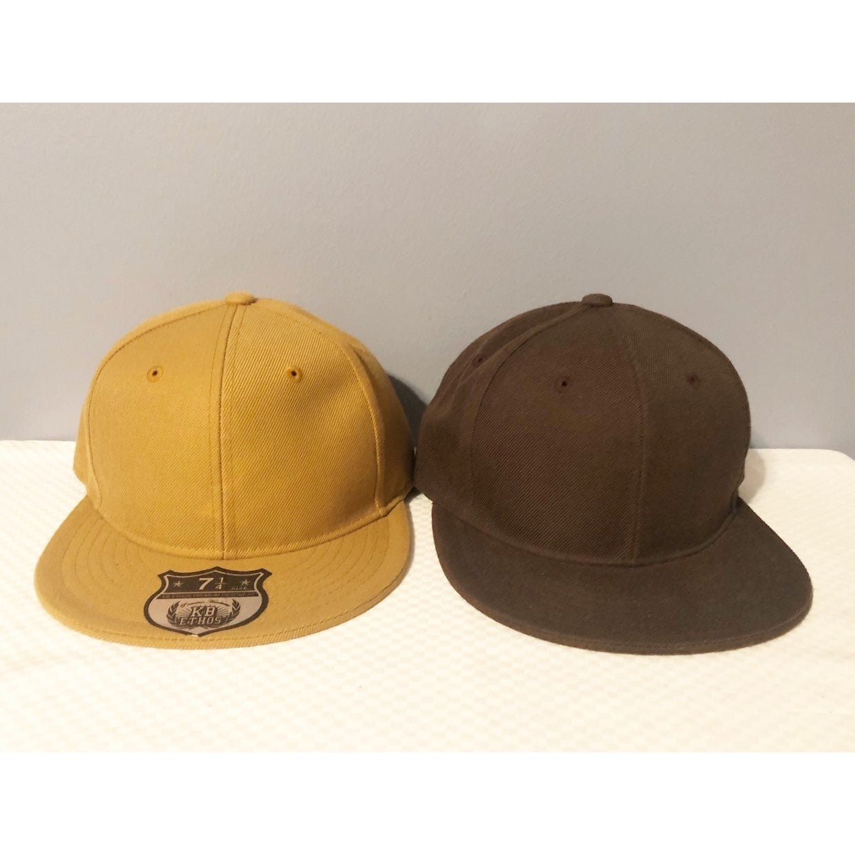 2 Fitted Caps