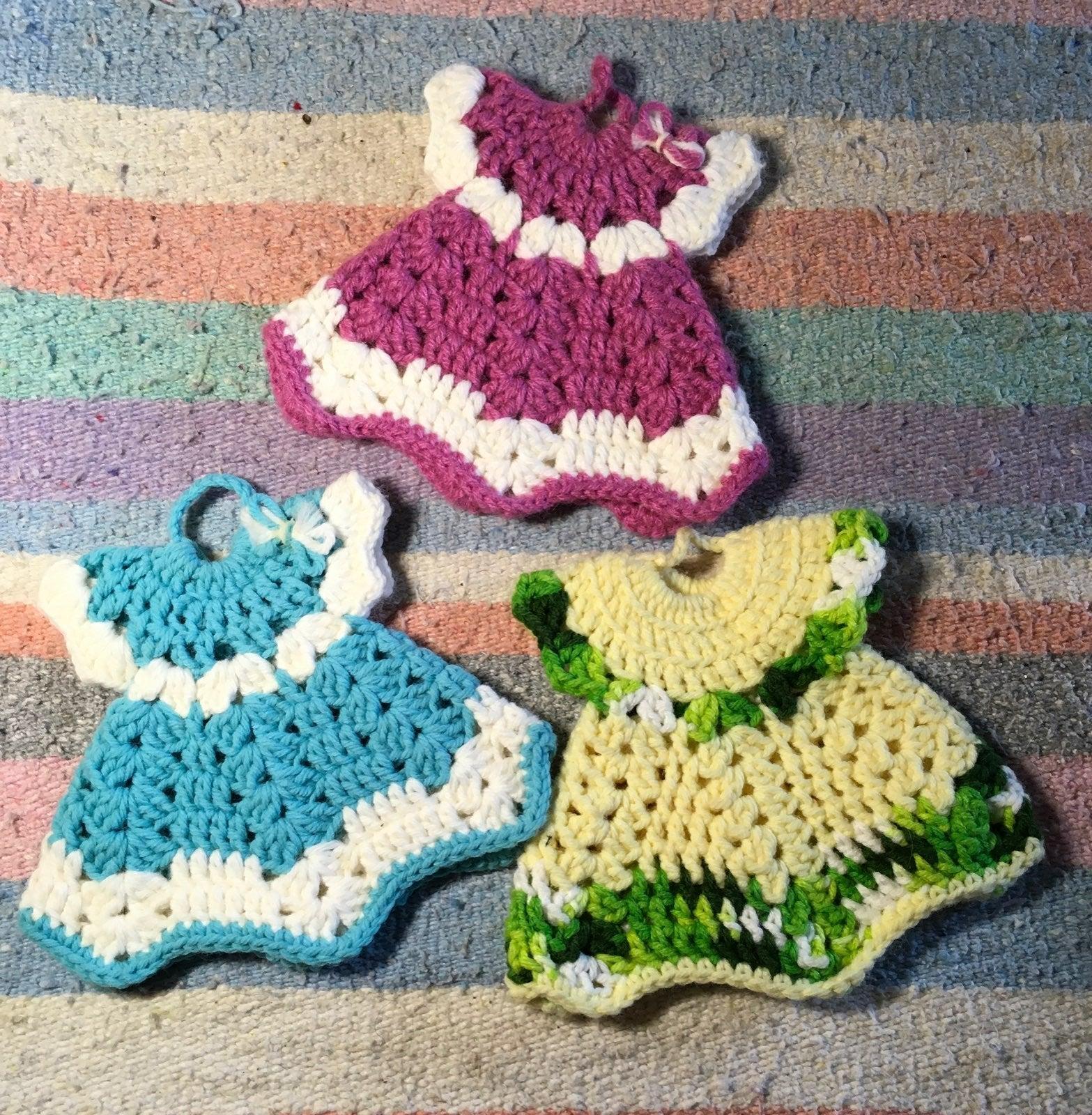 Little dress potholders