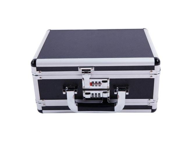 Aluminum Lock Box Hard Storage Suitcase