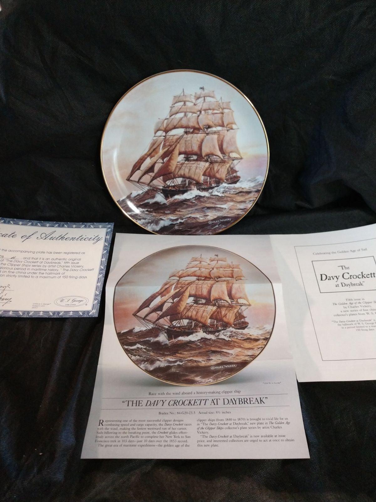 COA Collector Plate 3835
