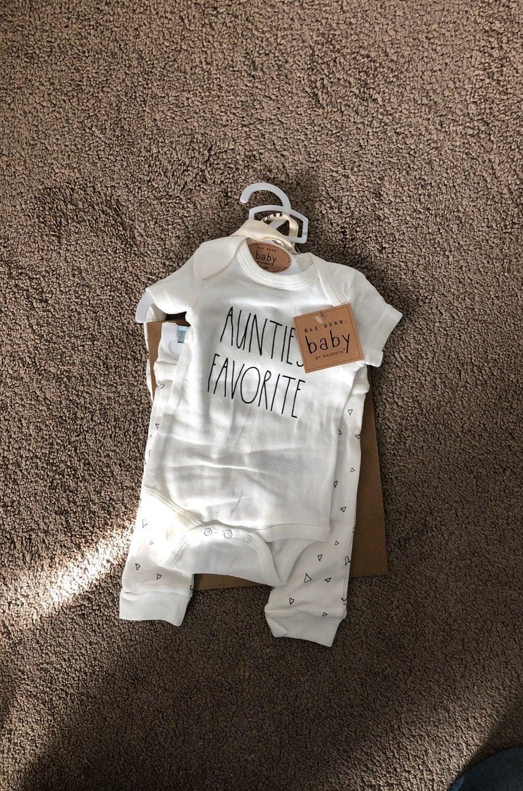 Rae Funn Baby Gift Set with Bag 0-3M
