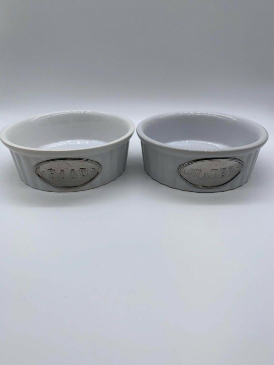 Petrageous Designs White Ceramic Food An