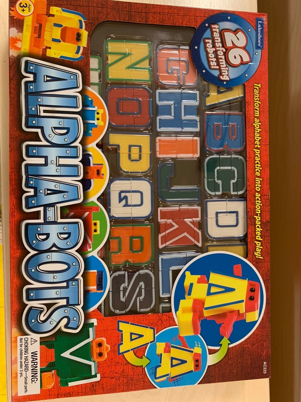 Lakeshore Leanring Alphabet Bots
