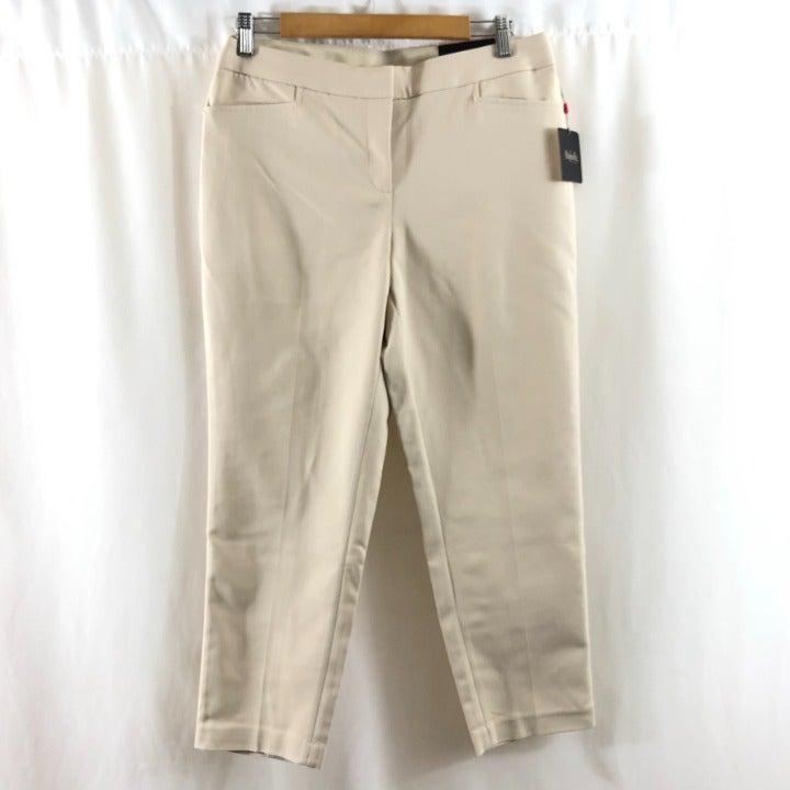 Rafaella Womens Pants Cropped 10P