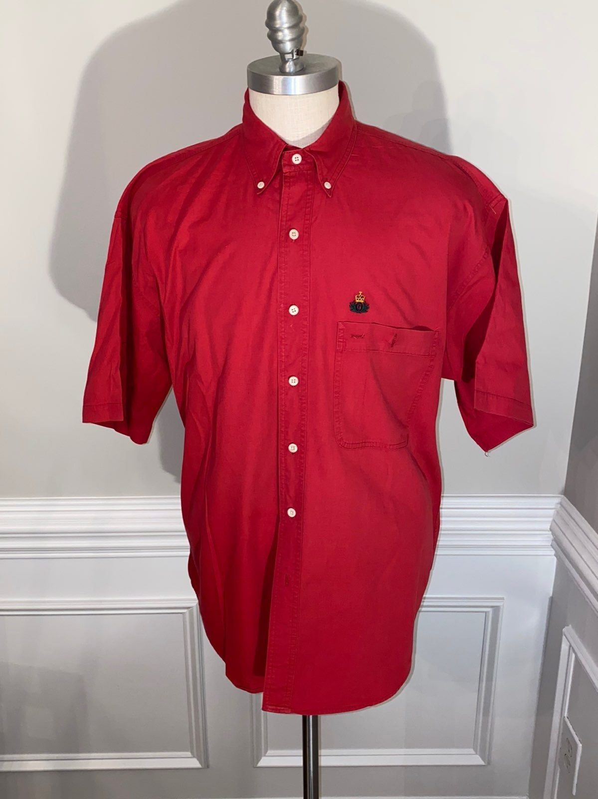 Gant Mens Button Short sleeves
