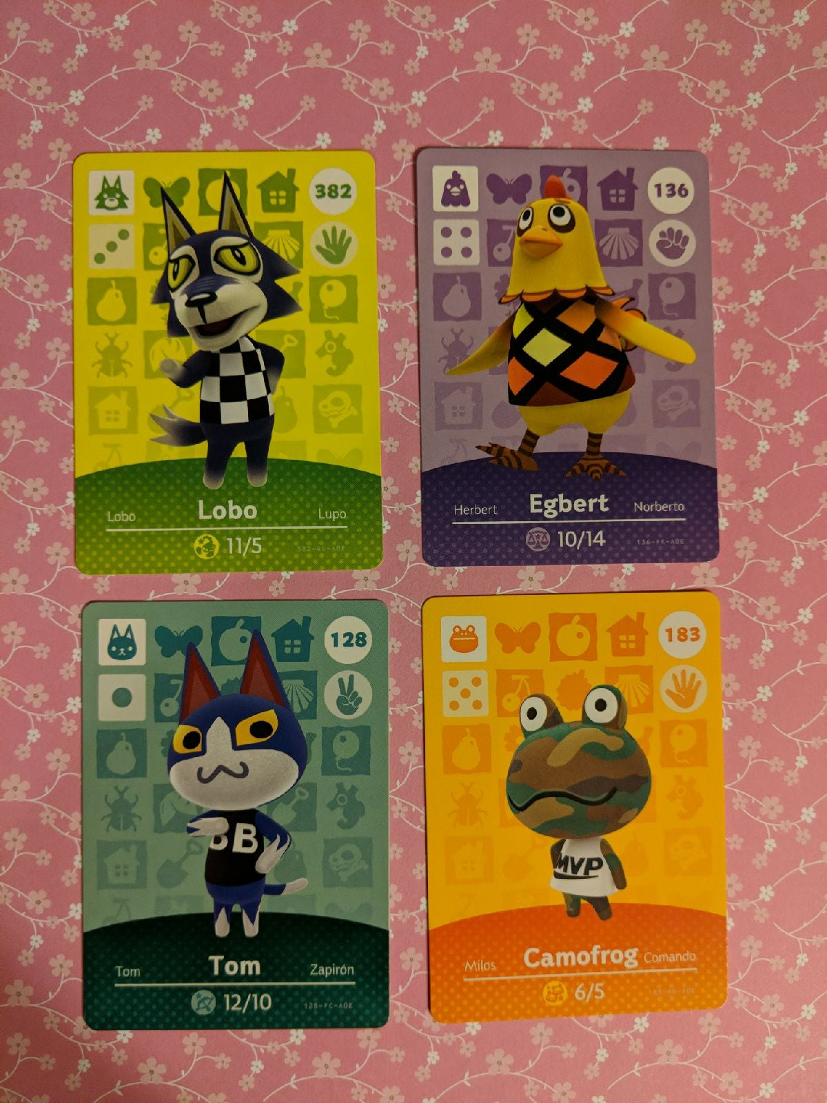 amiibo cards animal crossing lot