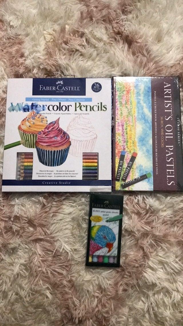 3pc Faber-Castell/ Studio Series art kit