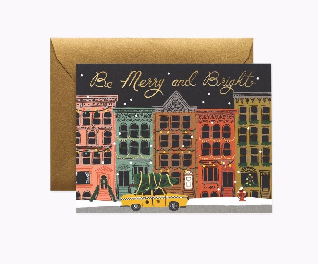 City Holiday Cards - Boxed Set