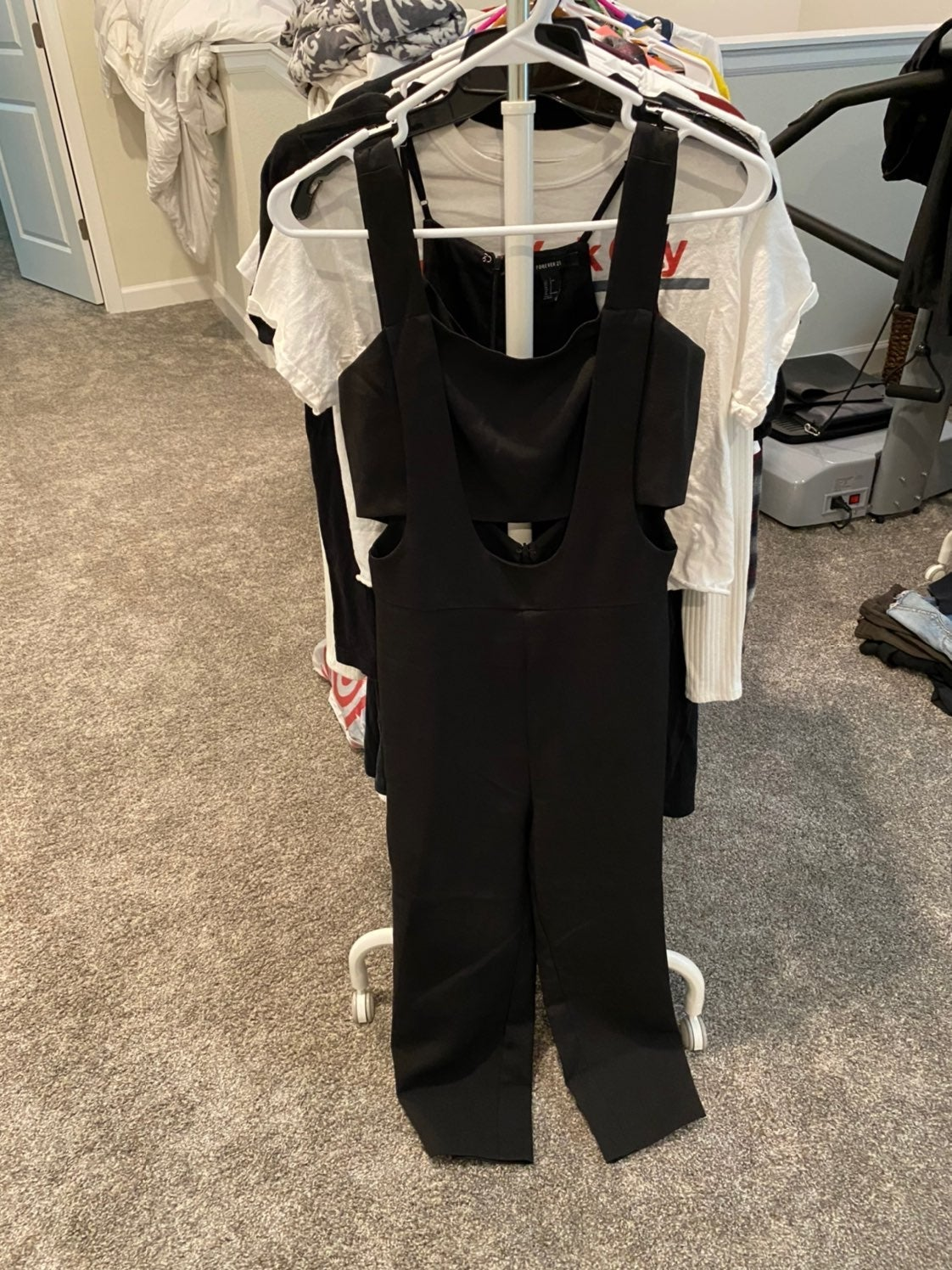 Overall Romper English Factory