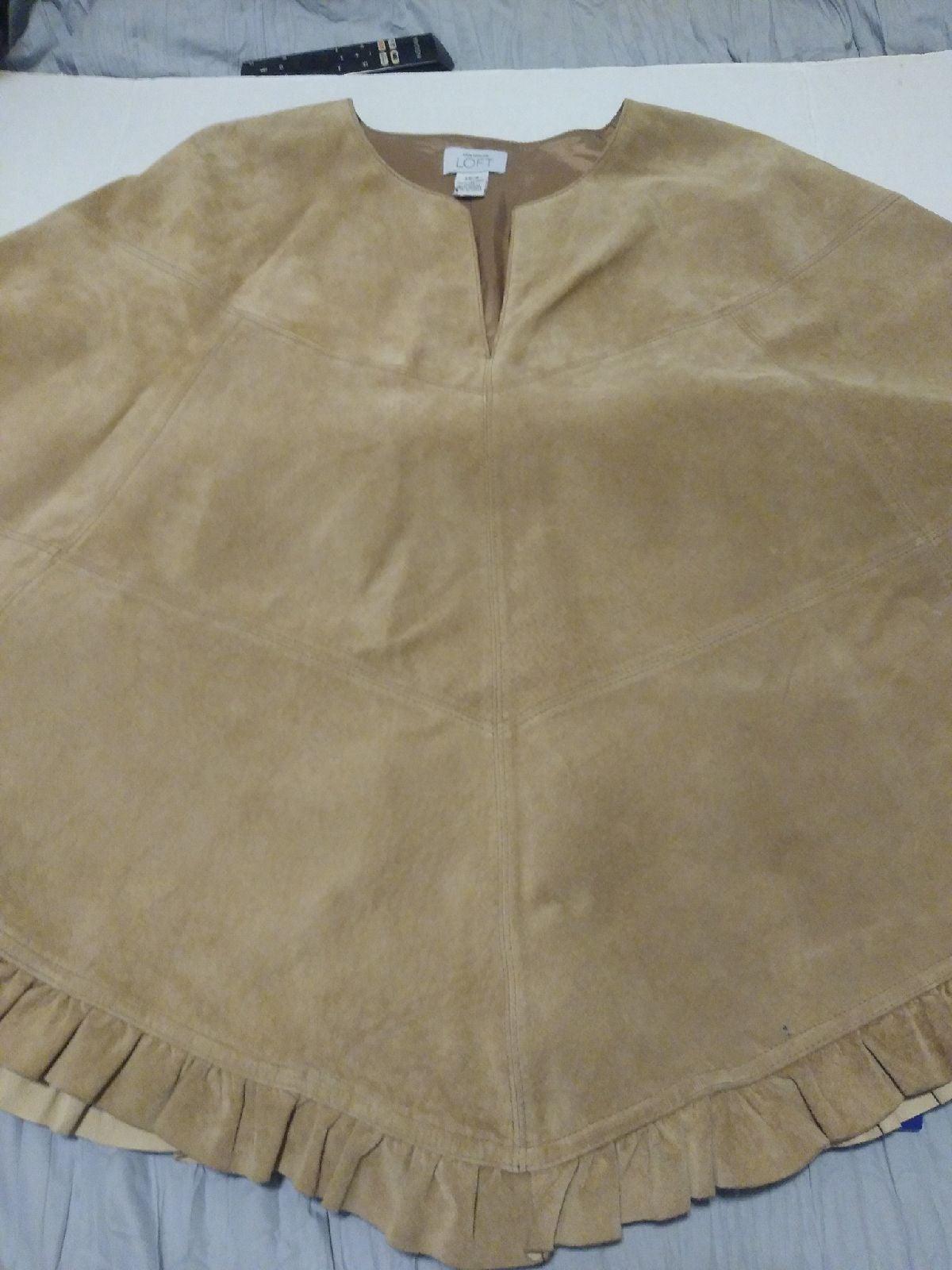 Leather shawl