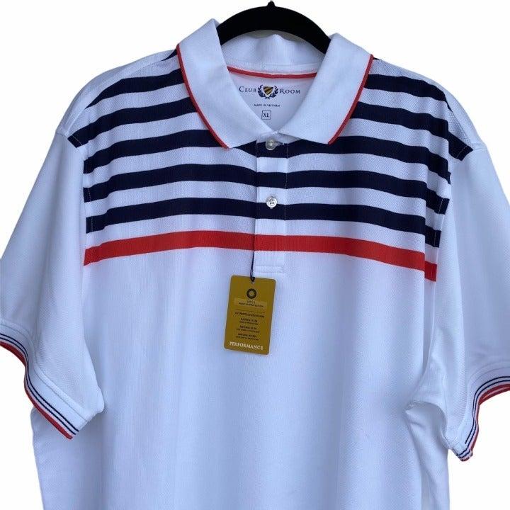 Club Room Polo Performance Shirt XL