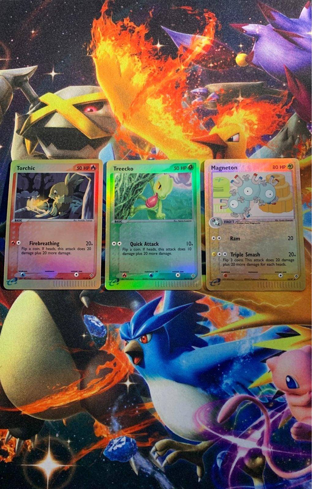 Pokemon Cards Dragon Reverse Holo Lot