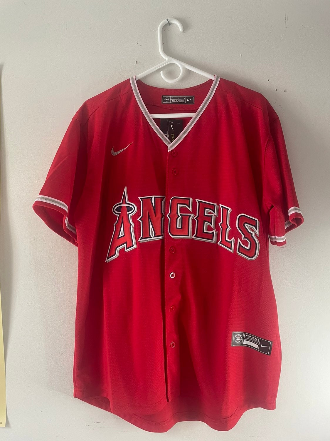 Mike Trout Large Jersey