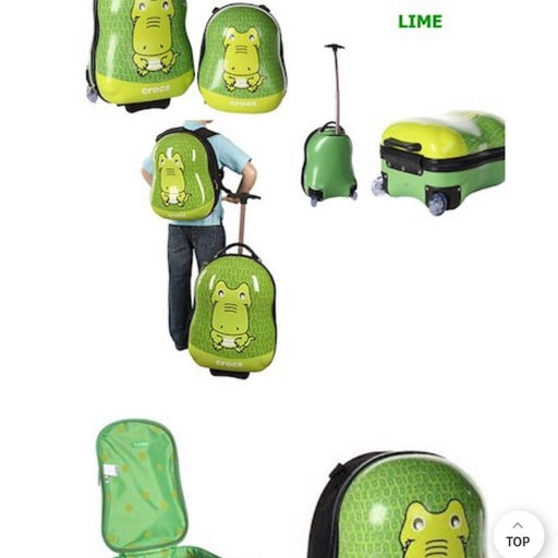Crocs Luggage And Backpack Set