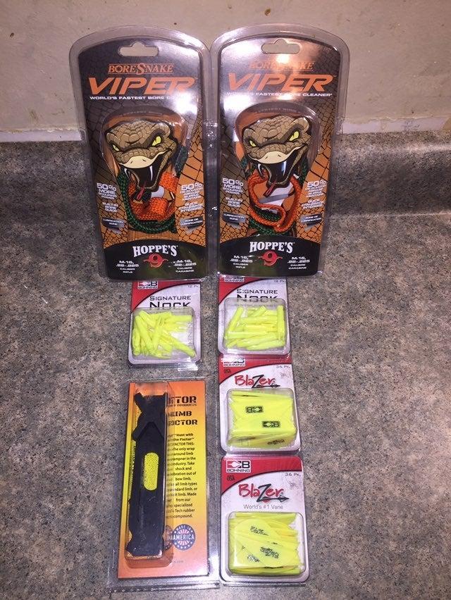 Viper Bore Cleaner Knocks Vanes  Limb Or