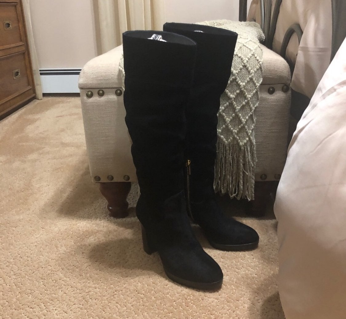 Michael Kors suede high boots