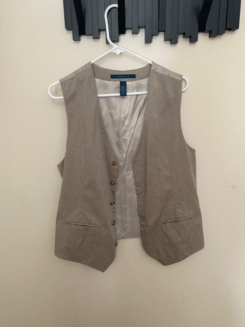 Men's Perry Ellis Gray Vest