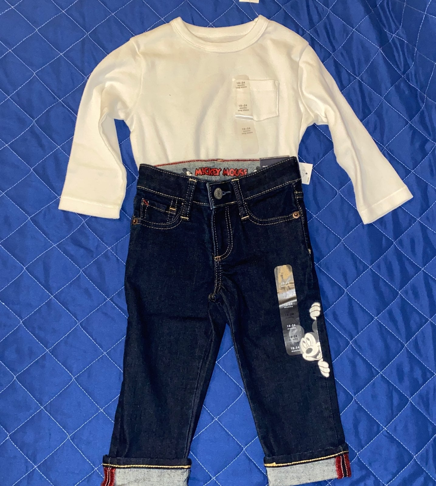 Disney baby gap mickey outfit