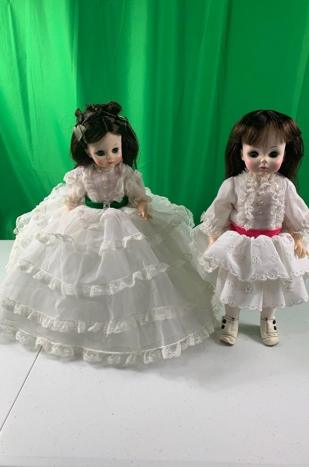hOLD Vintage Madame Alexander dolls