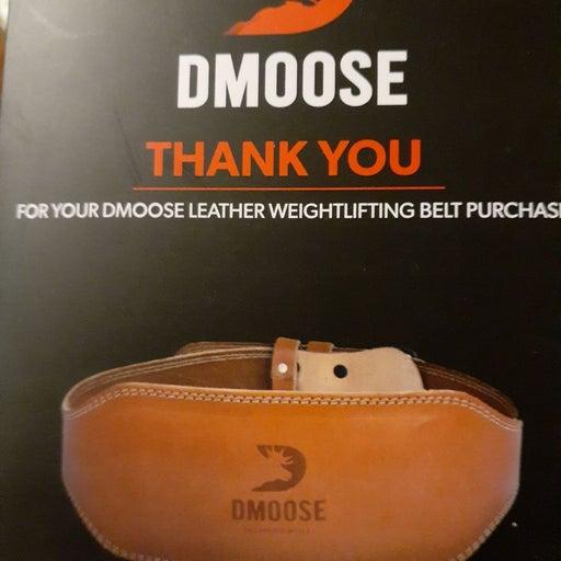 DMOOSE Weight lifting  belt