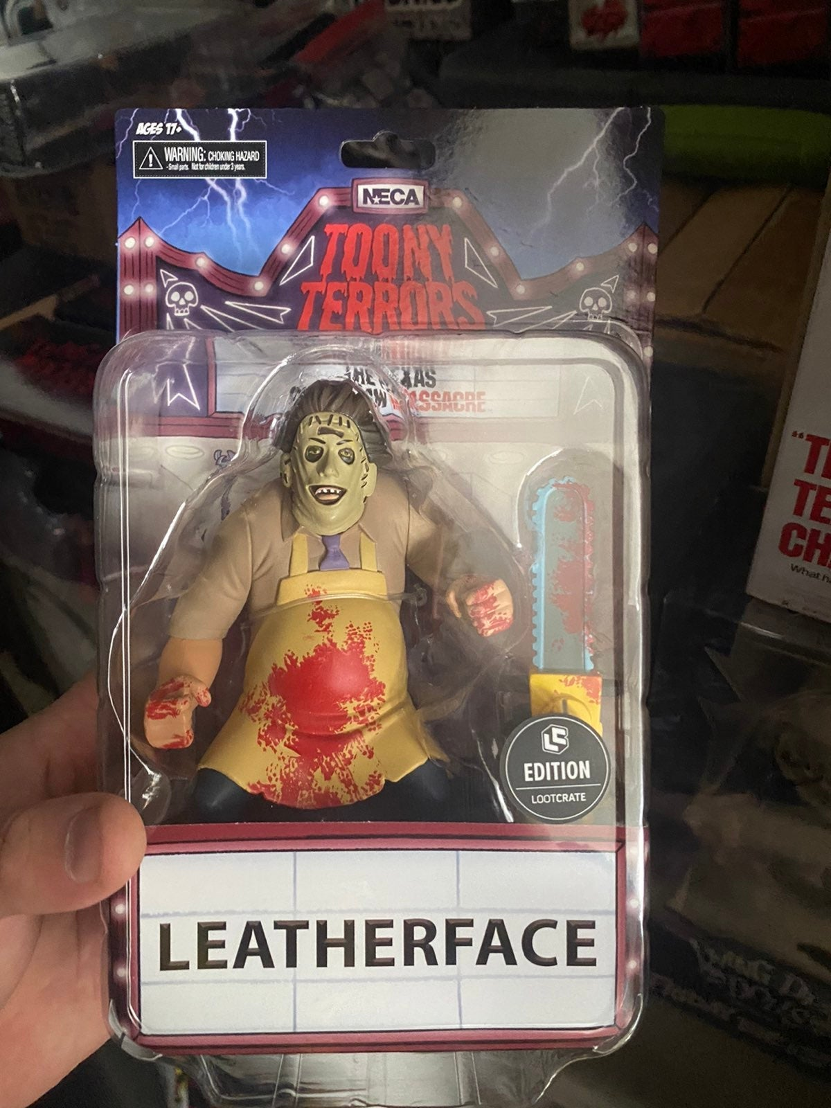 Loot crate exclusive leatherface