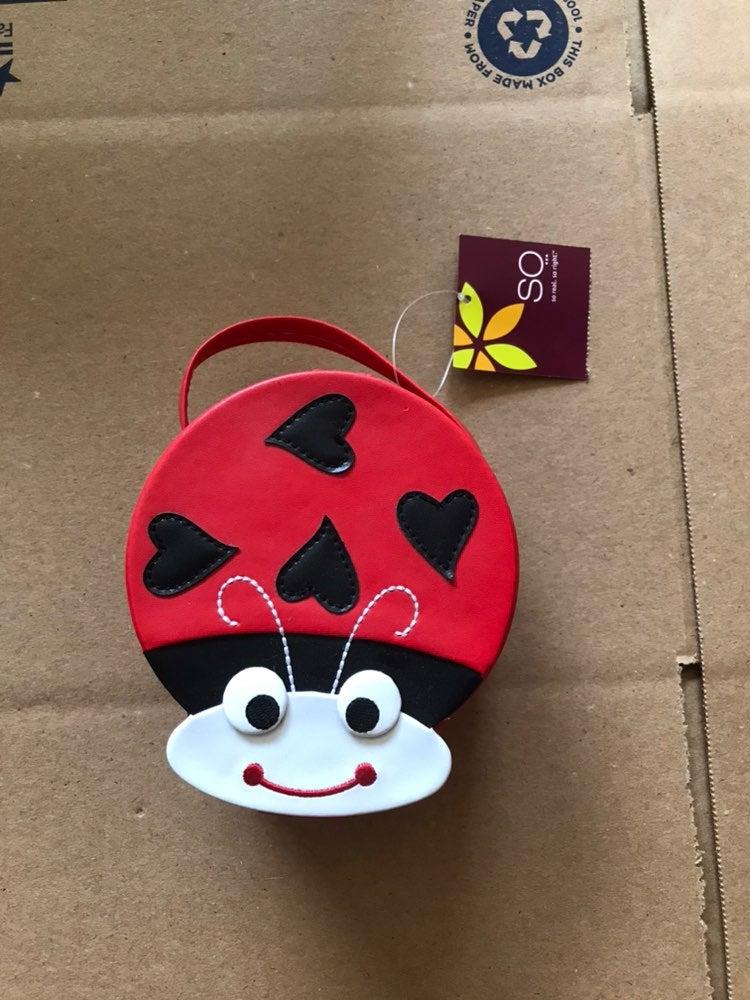 Ladybug tote/purse