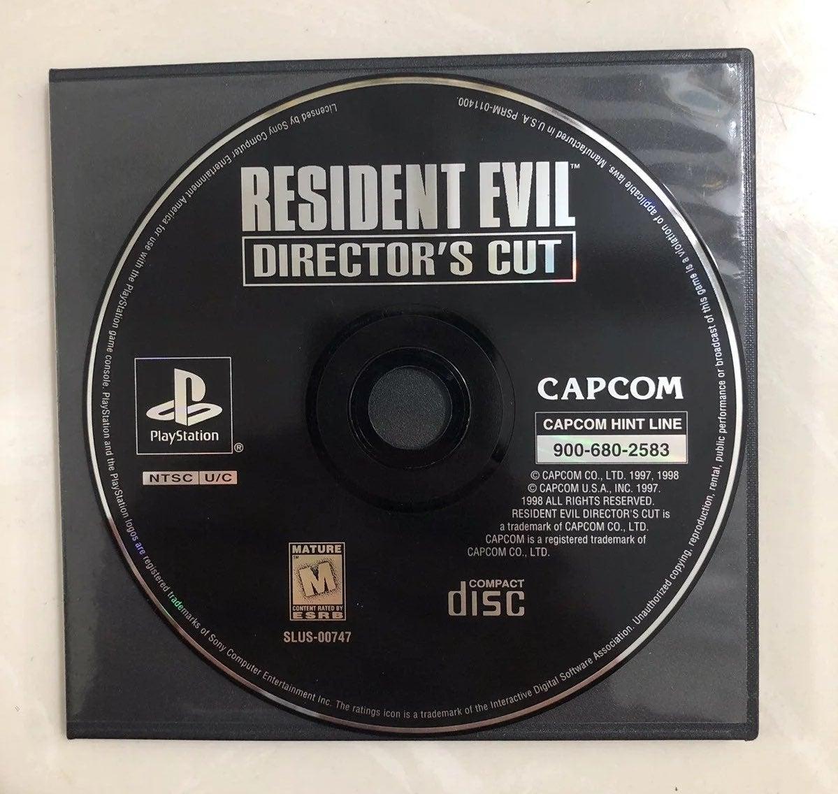 Resident Evil Directors Cut PS1