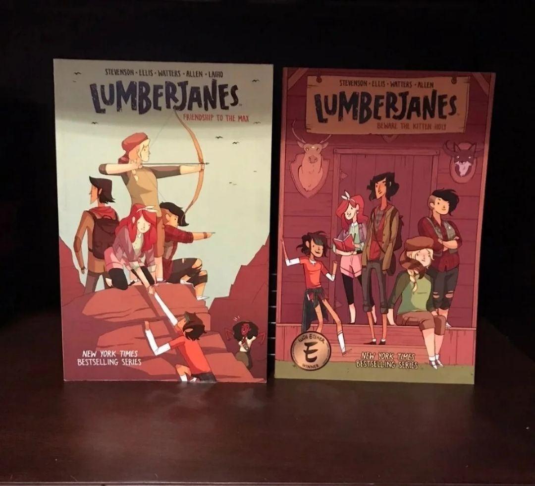 Lumber Janes Comic Book Paperbacks