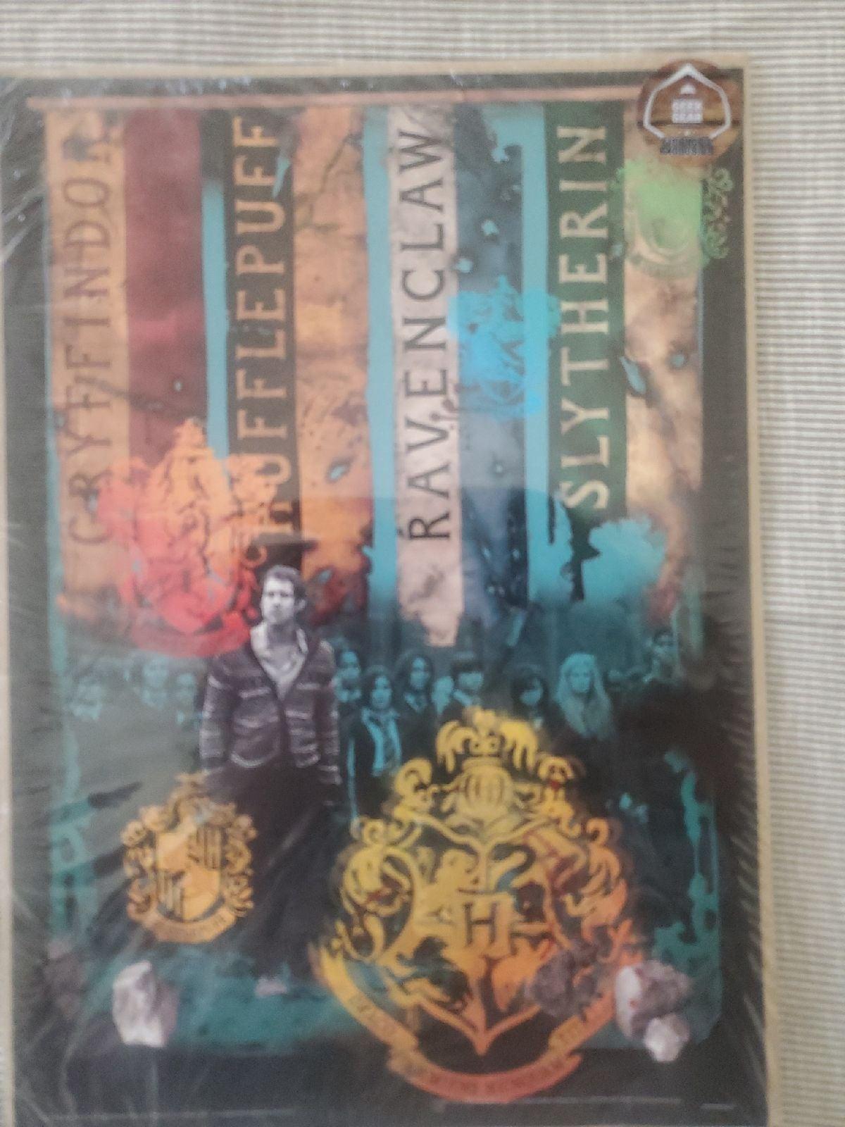 Harry Potter art print (hogwart houses)